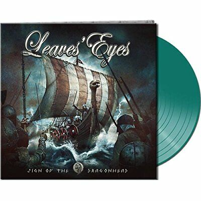 LEAVES EYES Sign Of The Dragonhead LIMITED LP GATEFOLD GREEN VINYL 2018