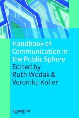 NEW Handbook Of Communication In The Public Sphere BOOK (Paperback) Free P&H