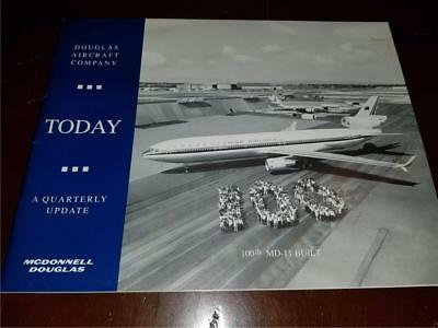1993 DOUGLAS AIRCRAFT COMPANY Quarterly Update McDonnell TODAY 100th MD-11
