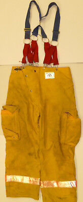 36x30 Pants Firefighter Turnout Bunker Yellow Fire Gear Morning Pride P857