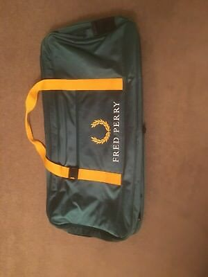 Fred Perry Tennis Bag Sports Holdall Used Once Superb Rare