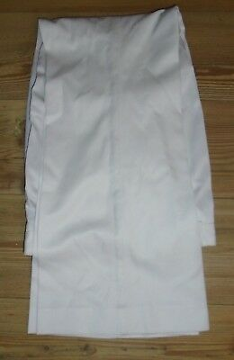 Royal Navy Mens White  Class Ii Trousers Various Size Genuine Issue