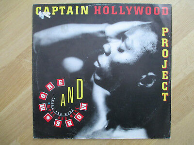 "Vinyl 12"",  Captain Hollywood Project ‎– More And More, INT 125.953, 1992"