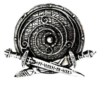 ALCHEMY GOTHIC - WARBAND BELT BUCKLE. Nordic Viking