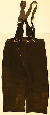 40x24 Pants With Suspenders Firefighter Turnout Bunker Fire Gear Globe  P864