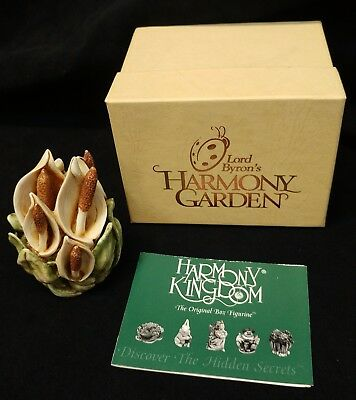 "Harmony Kingdom - Lord Byron's Garden England ""Peace Lily"" HGPL RETIRED"