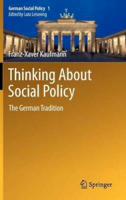 NEW Thinking About Social Policy by Manfried G. Schmidt BOOK (Hardback)