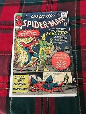 Amazing Spiderman #9 - First Appearance Of Electro!! Stan Lee Ditko!!!