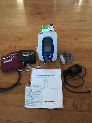 Welch Allyn 420 Spot Vital Signs Monitor 4200B NIBP,
