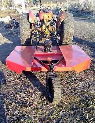 Howse Brush Hog 6' Rotary 3 Point Field & Brush Mower Works Great 3Pt