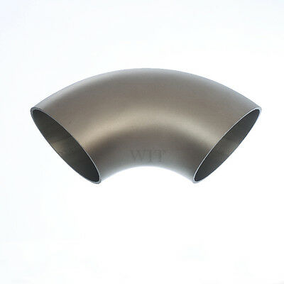 129mm Pipe Bend Stainless Steel Arc Welding 90° Curve VA Matte