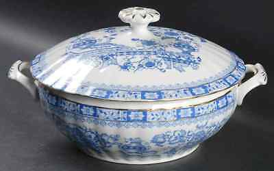 Seltmann CHINA BLAU Round Covered Vegetable Bowl 8857246