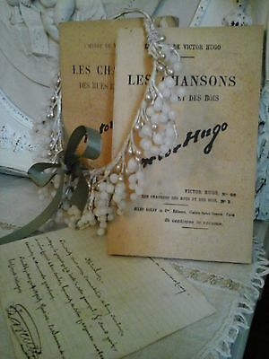Antique French Song Books~Victor Hugo~Editor Jules Rouff~Paris~Fab Ancient Decor