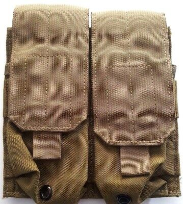 NEW Eagle Industries .223 & 5.56 Double Mag Pouch USMC Coyote MP2-M4/2-MS-COY