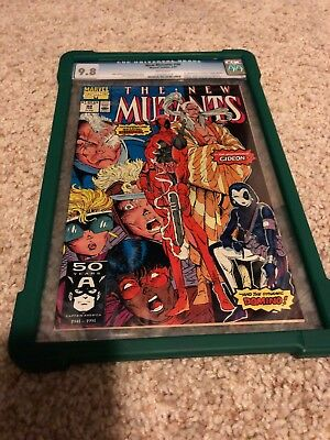 The New Mutants #98 CGC  9.8!!  White Pages!! (Feb 1991, Marvel)