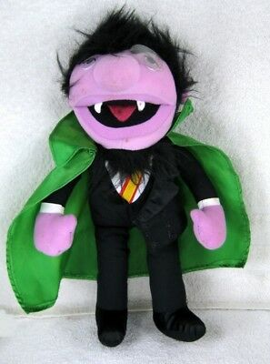 One (1) THE COUNT from SESAME STREET 14 Inch Plush Doll