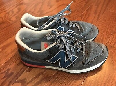info for 21a24 99b99 NEW BALANCE 996 American Renegade Encap Charcoal Gray Men's Shoes 6 M996