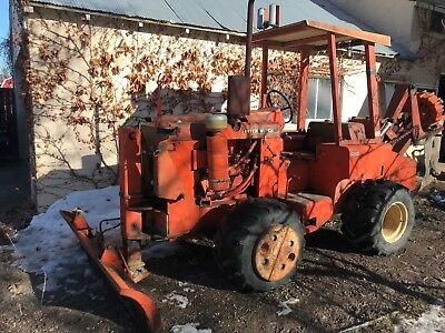 Ditch Witch R65 Cable Plow/Trencher (6' trencher blade not currently attached)