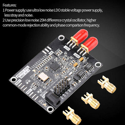 54MHZ-13.6GHZ RF ADF5355 PLL Phase-locked Loop VCO Frequency Synthesizer Board c