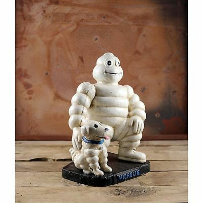 "10"" Large Michelin Man with Dog-Bibendum Michelin Man- Bibendum Dog-Bibendum Cas"