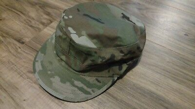 US Military Issue Multicam OCP Camouflage Patrol Cap, size 7 1/2