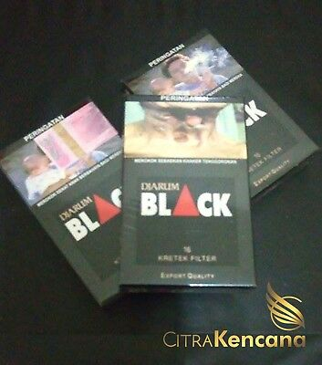 5x Djarum Black 16 Collectible Sealed Pack