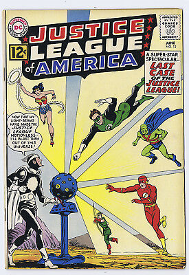 Justice League 12  FN  1st Dr Light