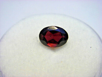 Rhodolite Garnet Gemstone Oval Cut 6 mm x 4 mm 0.55 carat faceted natural Gem