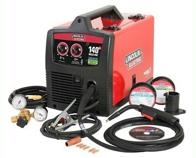 Lincoln Electric 140 Amp Weld Pak 140 HD MIG Wire Feed Welder. NEW IN SEALED BOX