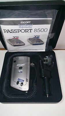 Escort Passport 8500 X50 Radar Detector ***READ***