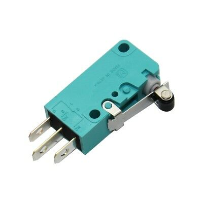 ABV1215613R Microswitch with lever with roller SPDT 3A/250VAC ON-ON