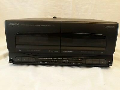 Kenwood X-A5 Stereo Double Auto Reverse Cassette Deck