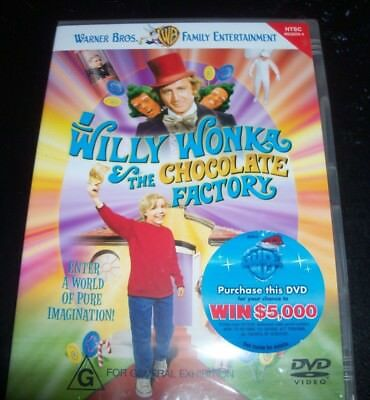 Willy Wonka And & The Chocolate Factory (Australia Region 4) DVD - NEW