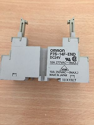 OMRON P7S-14F-END Relay Socket  - Price Beat Promise