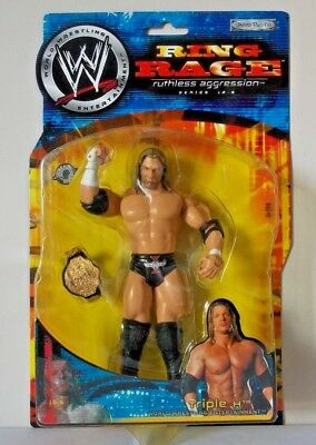 TRIPLE H Figure Jakks RING RAGE WWE WWF Ruthless Aggression Undertaker