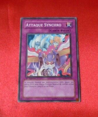 CARD CARTE YU-GI-OH COLLECTION KONAMI ATTAQUE SYNCHRO 1er EDITION DP08 FR028