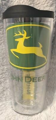 John Deere Clear 24oz Tervis Tumbler Keeps Drinks Hot And Cold