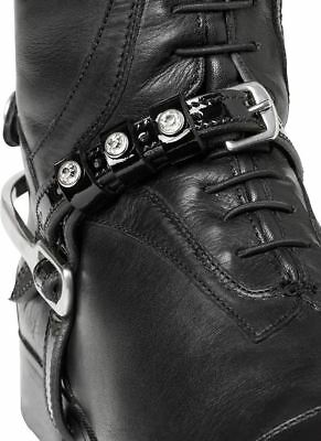 Mountain Horse Sovereign Crystal Detail Spur Straps