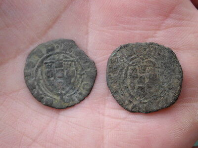 LOT COINS Portugal - Medieval coin to identify ceitil