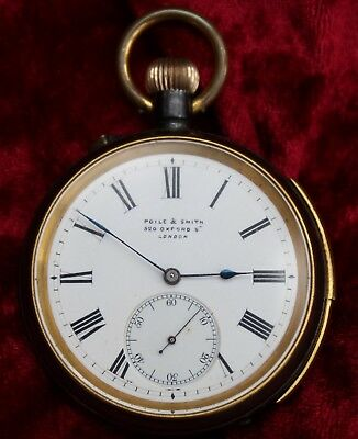 Poile & Smith Quarter Repeater Pocket Watch Circa 1900