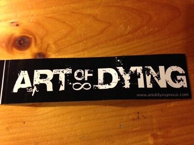 """ART OF DYING """"Get Through This"""" sticker"""