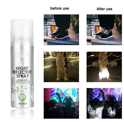 Reflective Spray For Bike Paint Reflecting Lights Anti Accident Riding Bike