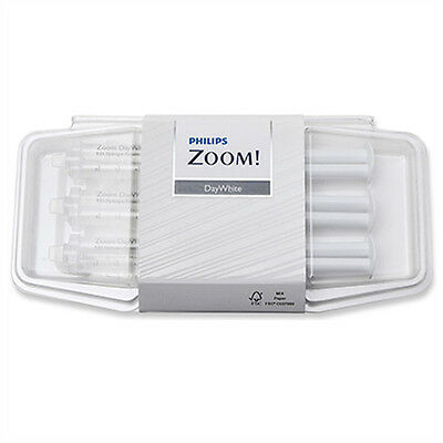100% Genuine Philips ZOOM! 14% Daywhite Teeth Whitening Gel 1x 2.4ml Syringe