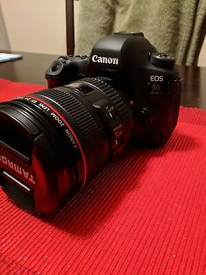 Canon EOS 6D Mark II w/ EF 24-105mm f/4L, 17-40 f/4, 50  f/1.4 Bundle