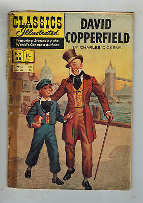CLASSICS ILLUSTRATED COMIC No. 48 David Copperfield HRN 115 - 1/-