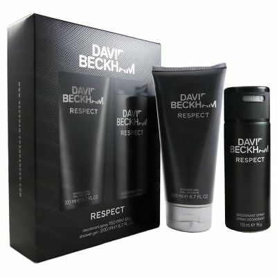 David Beckham Respect Set 150 ml Deo Spray & 200 ml Duschgel Shower Gel