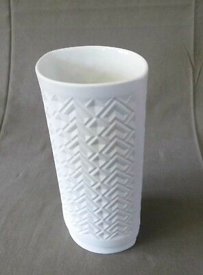 Seltmann Vase 908/2 matt psychedelic patterns op art 60s 60er 70s 70er Design