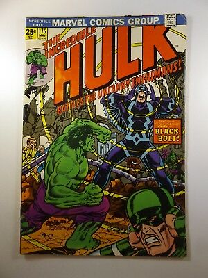The Incredible Hulk #175 vs The Uncanny Inhumans MVS Intact Nice Fine- Condition