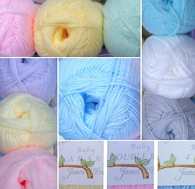 James C Brett 100g Super Soft Premium Acrylic / Baby Double Knitting Yarn / Wool