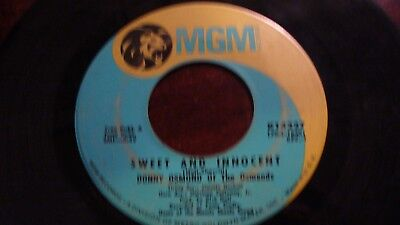 Donny Osmond Of The Osmonds* ‎– Sweet And Innocent / Flirtin'  45RPM  record